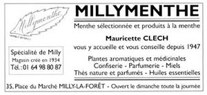 Étiquette Millymenthe