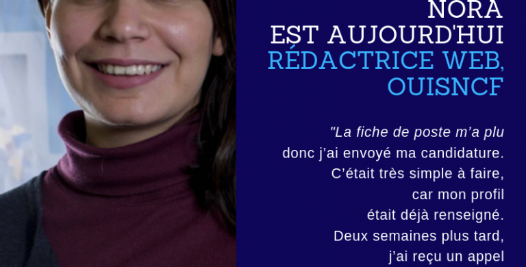 Success Story - Nora - oui.sncf
