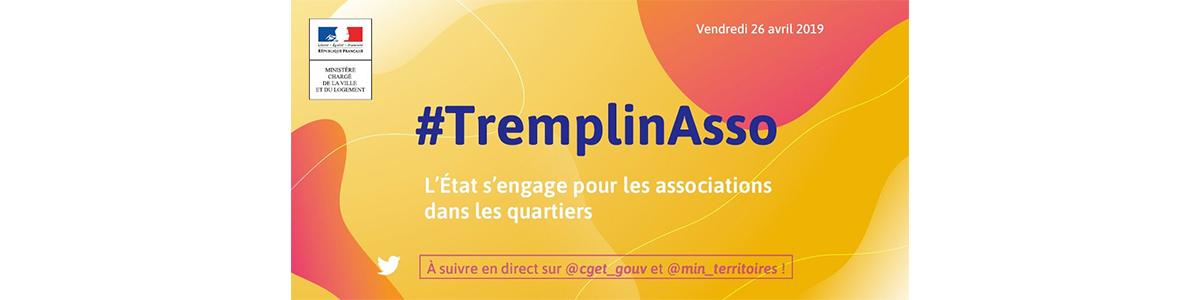 Affiche Tremplin Asso pour Mozaik RH